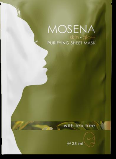 sheet mask package green