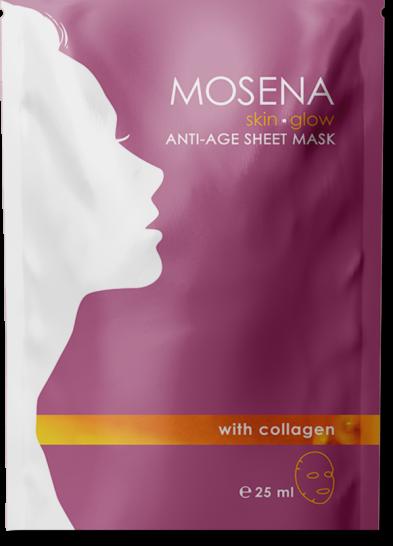 sheet mask package purple